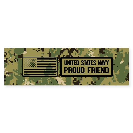 U.S. Navy: Proud Friend (Camo)