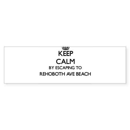 Keep calm by escaping to Rehoboth Ave Beach Delawa