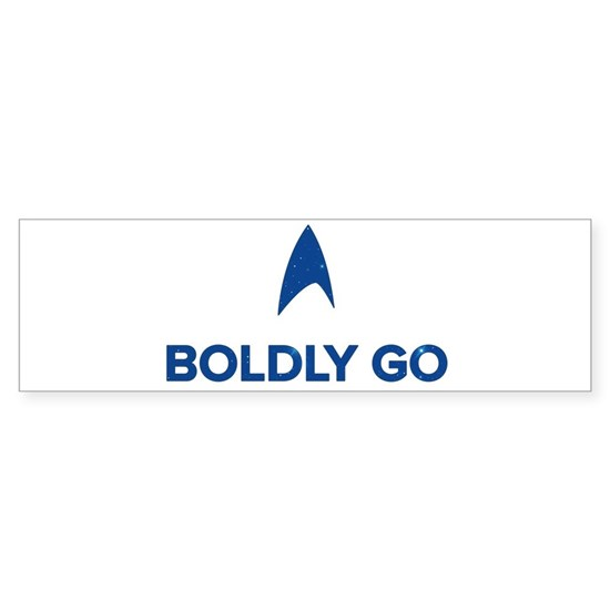 Boldly Go Star Trek
