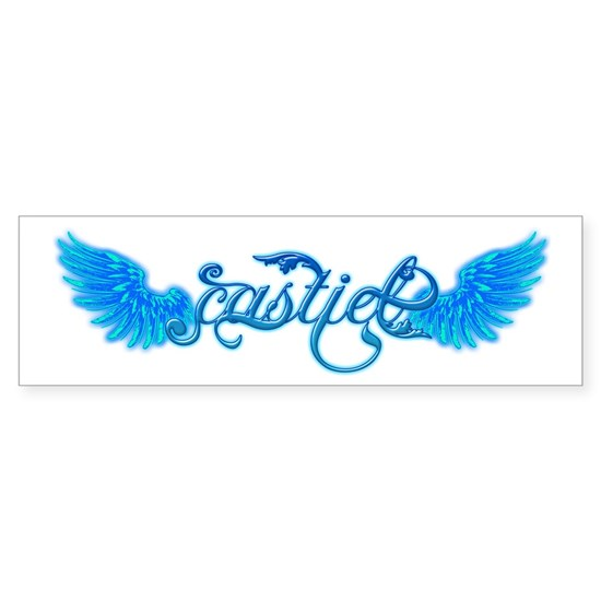 New Castiel Text wings