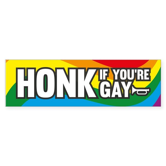 Honk If You're Gay