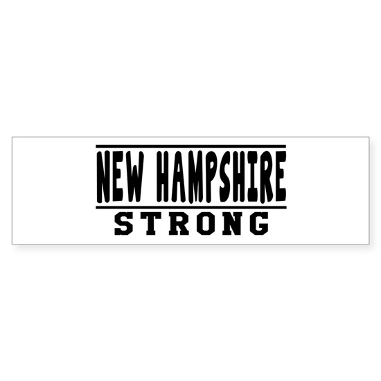 New Hampshire Strong Designs