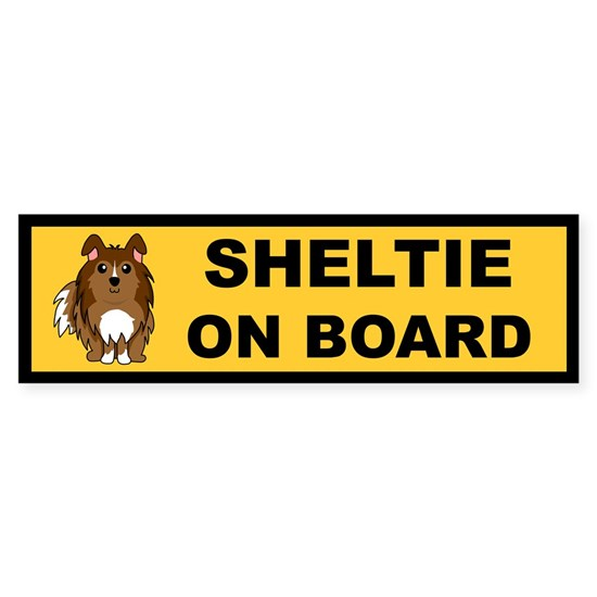 Sheltie On Board