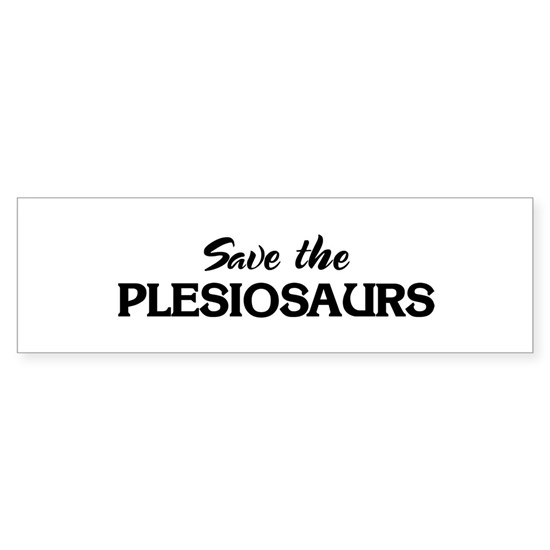 Save the PLESIOSAURS