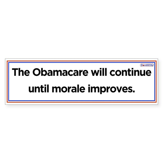 The Obamacare will continue
