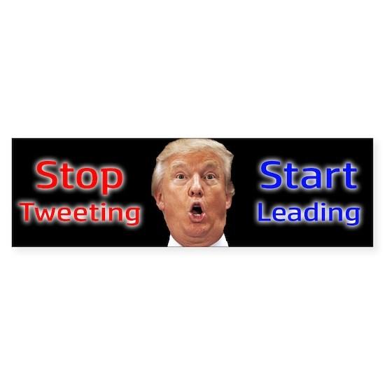 stop tweeting start leading