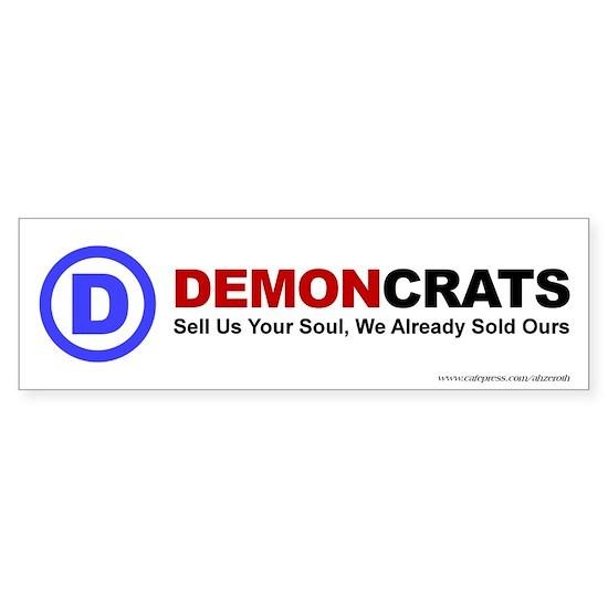 Demoncrats - Bumper