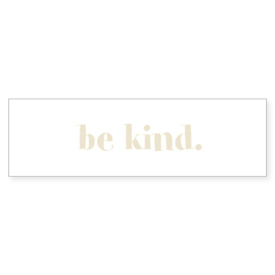 WORDS_Be Kind