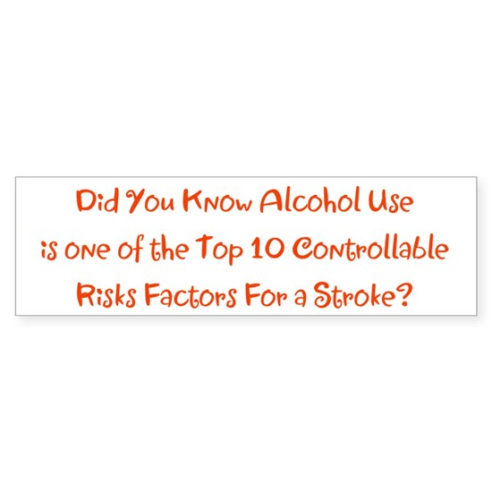 Alcohol Use Stroke Risk Factors Bradley's Fave