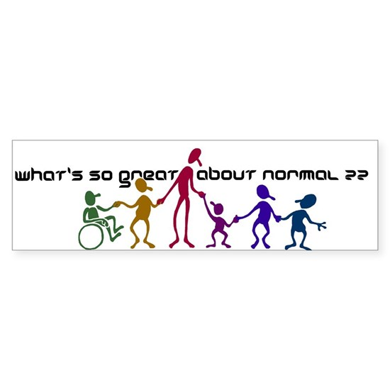 Whats So Great about Normal?
