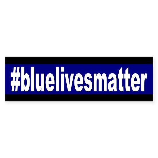 Blue Lives Matter Hashtag