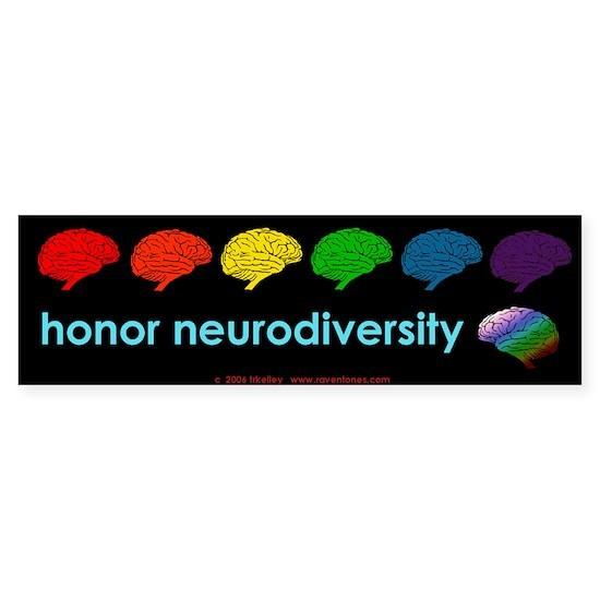 neurodiversity  bumpersticker