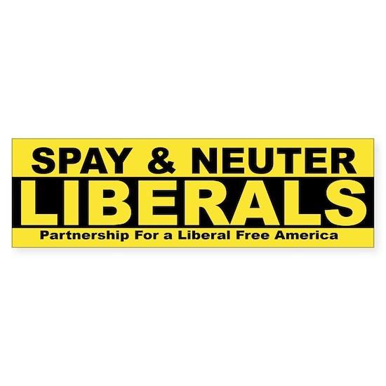 Spay  Neuter Liberals