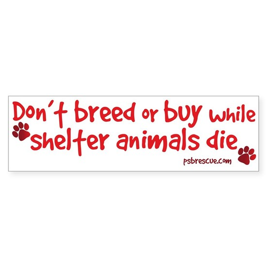 dont breed - red