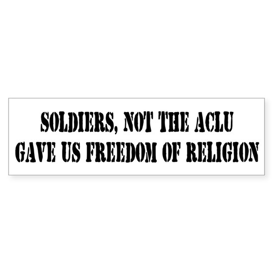 Soldiers Give Freedom