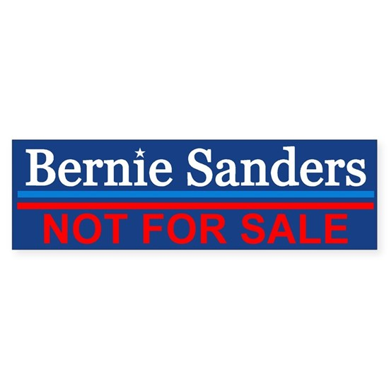 Bernie Not For Sale