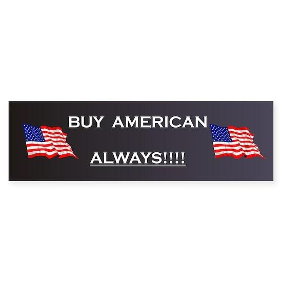 BuyAmerican Bumper Sticker 2
