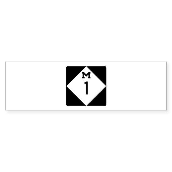 Woodward Avenue Route Shield - M1