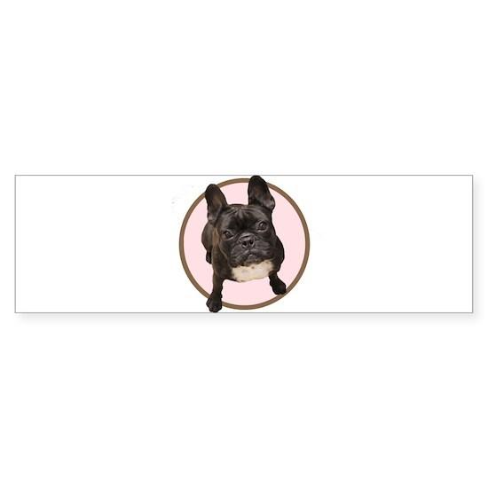 French Bulldog - Pink Circle