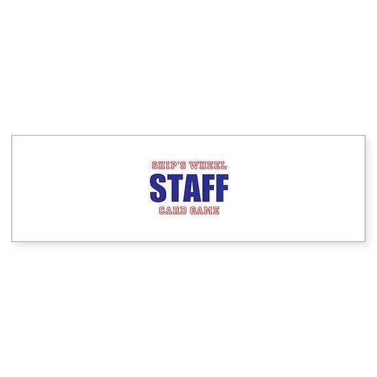 Ships Wheel Card Game STAFF