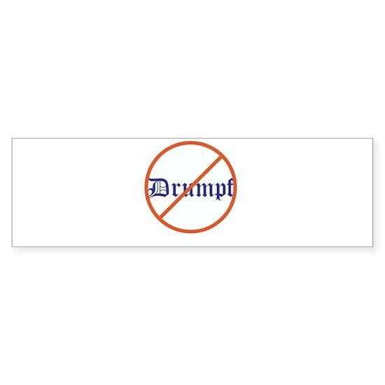 Anti Trump! No Drumpf