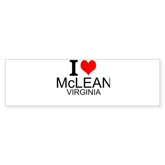 I Love McLean Virginia