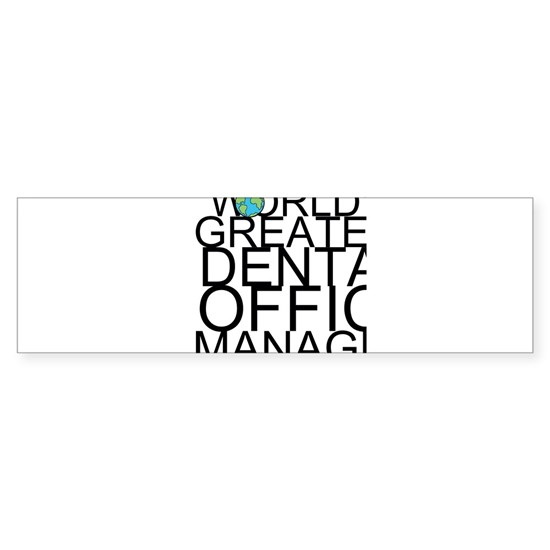 World's Greatest Dental Office Manager