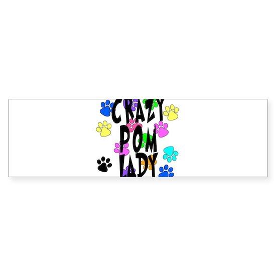 Crazy Pom Lady