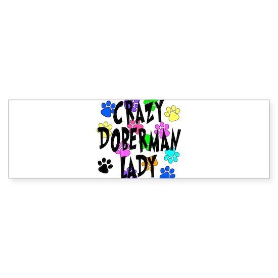 Crazy Doberman Lady