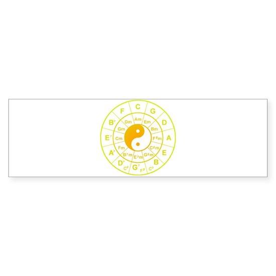 yin yang circle of 5th