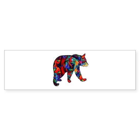 BEAR PAINTED