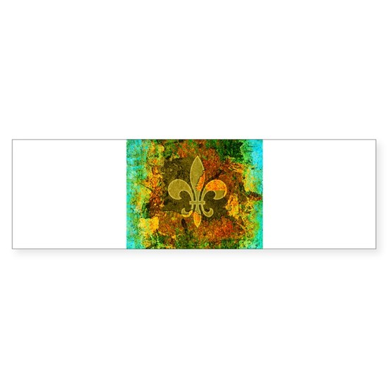 Louisiana Rustic Fleur de lis