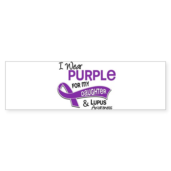 D I Wear Purple For My Daughter 42 Lupus