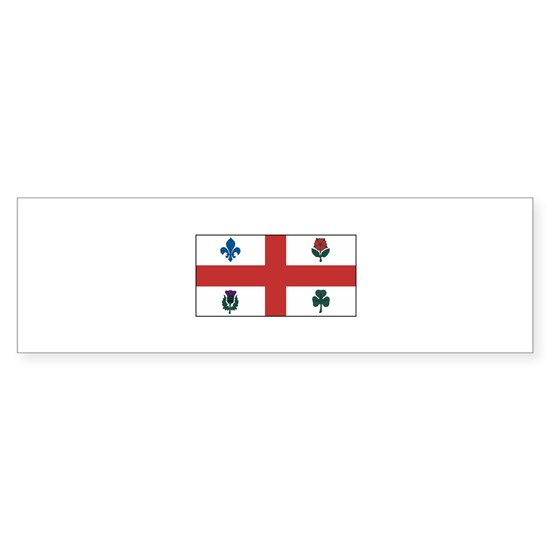 Montreal Quebec Flag