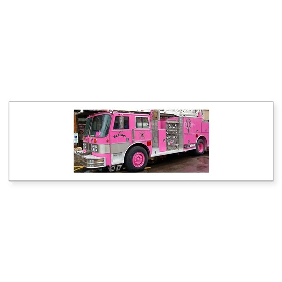 Pink Fire Truck (real)