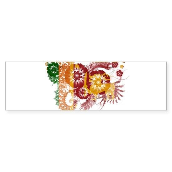 Sri Lanka textured flower