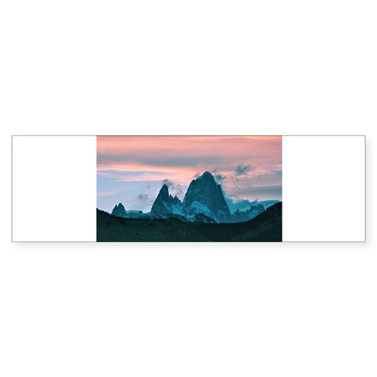 Mount Fitz Roy, Patagonia, Argentina at dusk