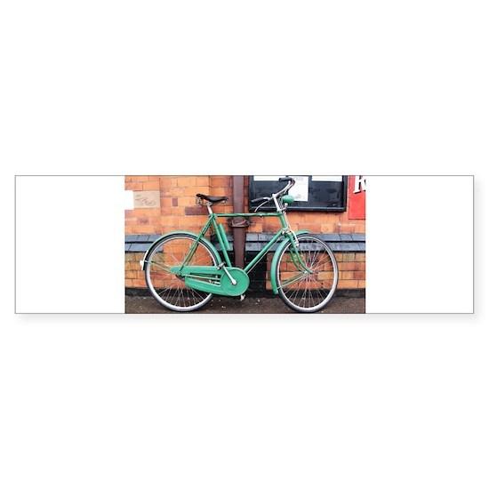 Green Bicycle Vintage