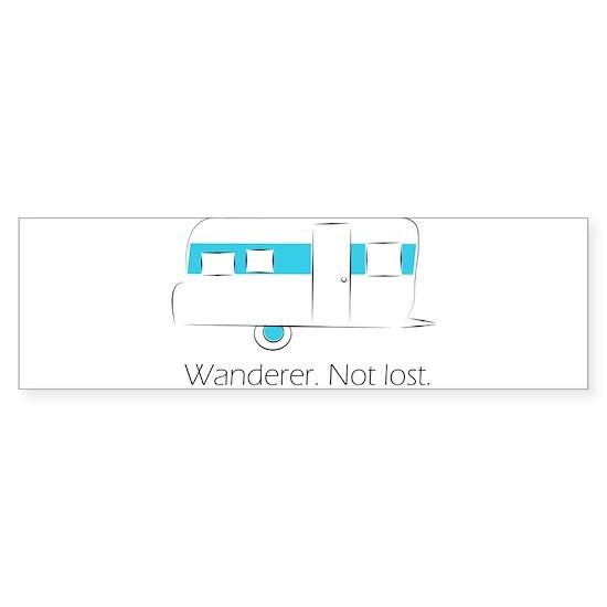 Wanderer. Not lost.