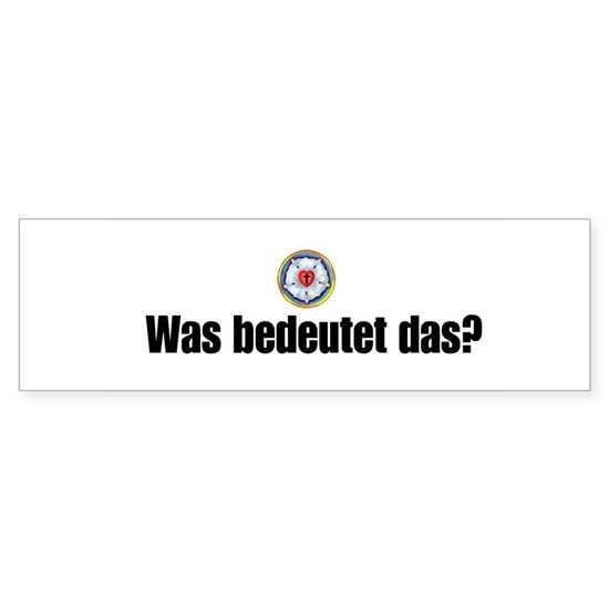whatdoesthismean in german