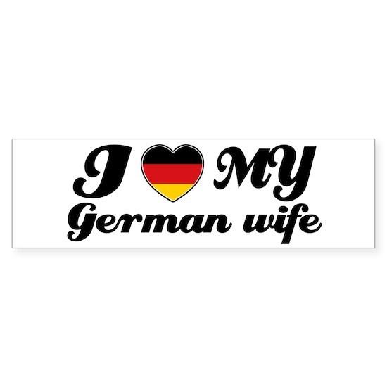 I love my German wife