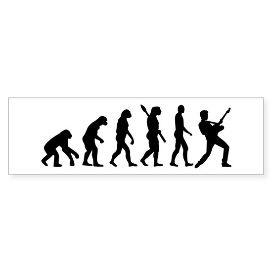 Evolution Rock musician