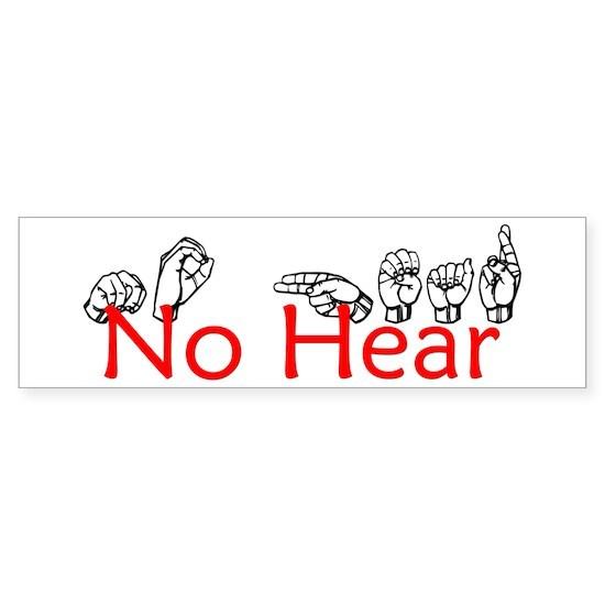 No Hear