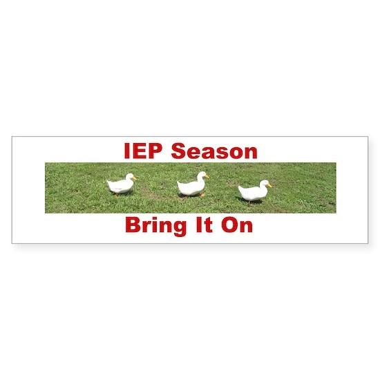 IEP Ducks in a Row