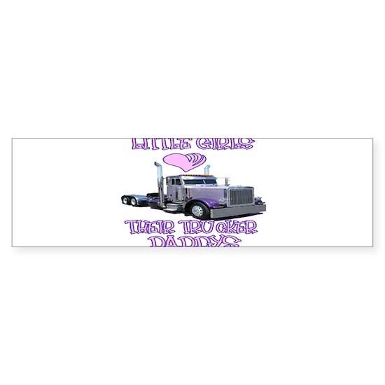 Little Girls Love Their Trucker Daddys rec
