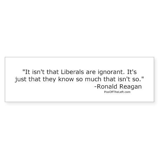 reaganliberalsareignorant