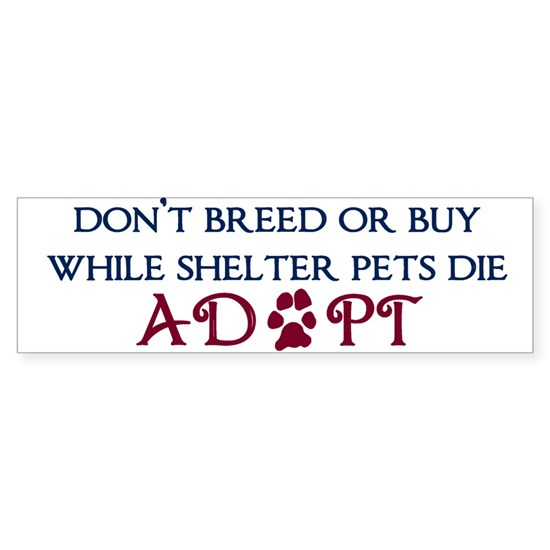 Dont Breed Sticker