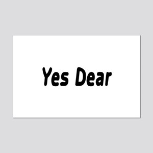 Yes Dear Mini Poster Print