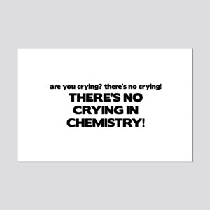 There's No Crying in Chemisty Mini Poster Print