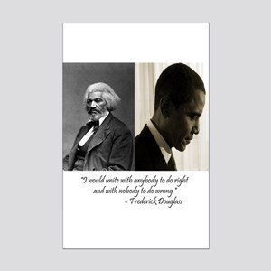Douglass-Obama Mini Poster Print